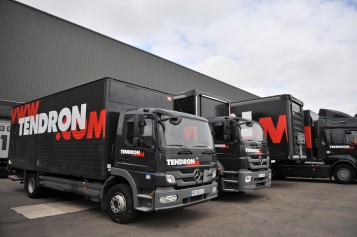 tendron camion transport routier